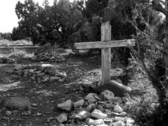 Graves at the Mercur cemetery. (Tribune file photo)