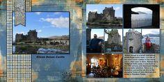 2014, Eilean Donan Castle - Scrapbook.com