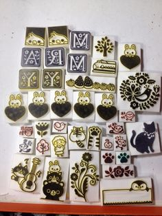 Animals by ART & CRAFT KOTORIの消しゴムはんこ