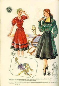 Lutterloh Dirndl Supplement 1950's pg. 16