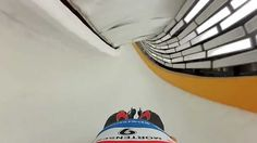 Point of View Camera...You will have a new-found appreciation for the Olympic sport of luge after watching this video, which was filmed by American luger Matt Mortensen at Sochi's Sanki Sliding Center. The typical Olympic luge run reaches speeds topping 90 miles per hour.