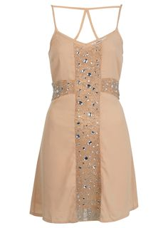 Petites Embellished Cross Dress - Going Out Dresses - Dresses - Apparel - Miss Selfridge US