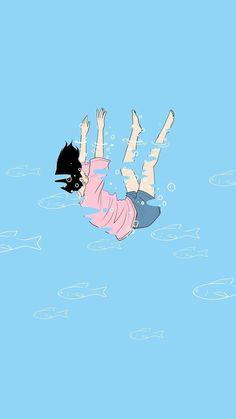 Pastel Wallpaper, Kawaii Wallpaper, Tumblr Wallpaper, Screen Wallpaper, Cartoon Wallpaper, Wallpaper Backgrounds, Hd Wallpaper Iphone, Art Anime, Anime Art Girl