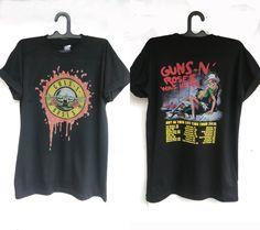 Guns n Roses T Shirts Guns n Roses Was Here Shirt by DesignerPride