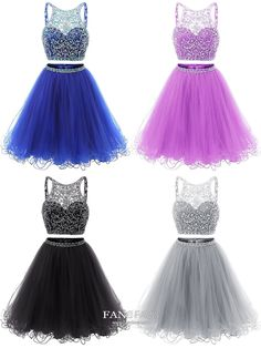 Blue Homecoming Dresses Short, Two Piece Homecoming Dresses A Line, Open Back Wedding … - women dressing Royal Blue Homecoming Dresses, Vintage Homecoming Dresses, Two Piece Homecoming Dress, Backless Prom Dresses, Tulle Prom Dress, Graduation Dresses, Dresses For Teens, Short Dresses, Formal Dresses