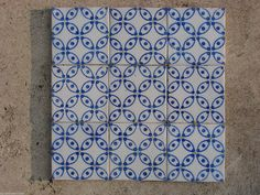LOT Ancien Carreau Faience Terre Cuite Carrelage Ceramique Gien - Carrelage ceramique