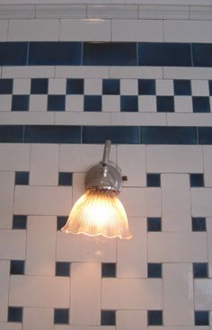 Tiled Bathroom at Nissim de Camondo