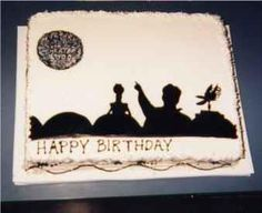 Mystery Science Theater 3000 cake