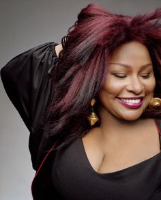 """Chaka Khan. """"I'm every woman - It's all in me - Anything you want done, baby - I'll do it naturally.."""""""