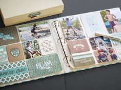 Picture My Life™ Jackson Scrapbooking Program. Perfect for boys, outdoor adventures, and everything in between. #scrapbooking #boys #adventure