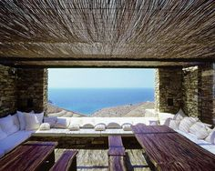 Underground Home in Greece. Not my style, but still, wow!