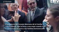 <p>Ciudad de México.- En un video que circula en redes sociales, se alcanza a observar que el presidente de Consejo Mexicano de la Familia, Juan Dabdoub,
