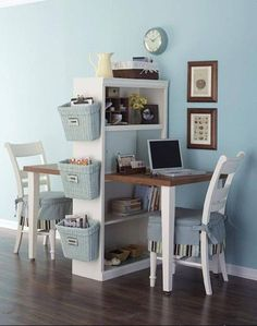 No place for your laptop ?This is a cute office idea for a small house Shop home decoration stuff>>http://goo.gl/UDqyqy Like us Beddinginn