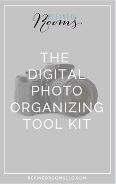 The Digital Photo Organizing Tool Kit is a great resource for getting your…