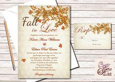 Printable Wedding Invitation Woodland Etching by WillowandSass ...
