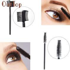 makeup brushes High quality Single-head Screw Eyelash Brush+Double Eyebrow Comb Brush Makeup Set Tools ar12 Levert Dropship #Affiliate