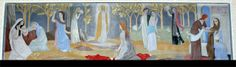 Teuva church altarpiece by Tove Jansson. - South-Ostrobothnia province of Western Finland. - Pohjanmaa.