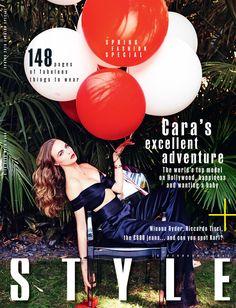 Ellen von Unwerth | Cara Delevingne,The Sunday Times Style | Peter Savic, Samuel Paul, Ashlie Johnson | Carl Hopgood