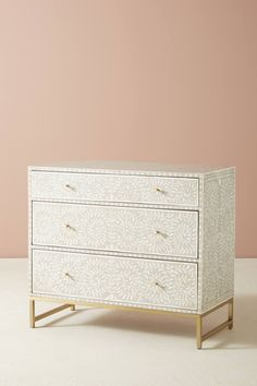 Shop the Scroll Vine Inlay Three-Drawer Dresser and more Anthropologie at Anthropologie today. Read customer reviews, discover product details and more.