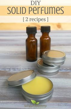 Solid Perfume Recipe