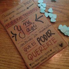 ***Quisiera... #señoritaClementinadelAmor #love #quotes #lettering