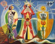 L'homme emblématique, 1939 Andre Masson