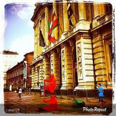 #Torino raccontata dai cittadini per #InTO Foto di @eva12f #palazzomadama #piazzacastello #torino #today #torinodalvivo #torinoècasamia #igers_torino #turin #instaturin #instamood #instagood
