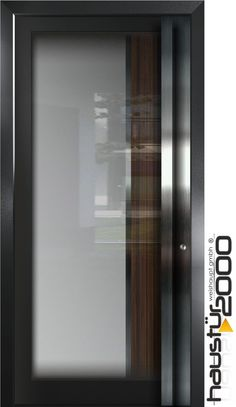 haustüren aluminium | Aluminium Haustür Glas Tür Alu Haustüren nach Maß Mod. HT 5462 GLA ...