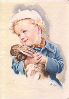 Gallery.ru / Foto # 20 - Oude ansichtkaarten met kinderen. Wordt vervolgd. - Anneta2012