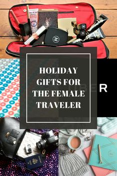 Top travel gifts for the female traveler!