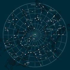Constellation tattoo idea