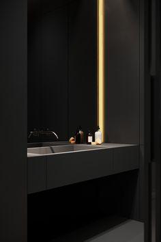 Dream House Interior, Luxury Homes Dream Houses, Home Room Design, Dream Home Design, Art Deco Bathroom, Bedroom False Ceiling Design, Bathroom Design Luxury, Dark Interiors, House Rooms