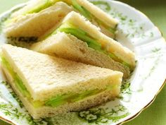 Delicious AND easy to make, cucumber tea sandwiches are the ideal afternoon tea sandwich, especially in summer, when cucumbers are in season.