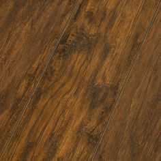 8mm Inhaus Timeless Impressions Collection Laminate Flooring SHENANDOAH HICKORY