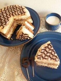 El Zurrón de los Postres: Tarta el Capricho de Moisés Empanadas, Sin Gluten, Cakes And More, Tiramisu, Cupcake Cakes, Waffles, Lemon, Food And Drink, Dishes