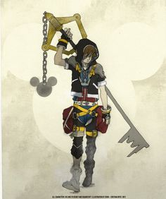 Sora - KINGDOM HEARTS.