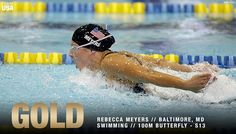 A WORLD RECORD & #GOLD MEDAL for @becca_meyers in the 100m Butterfly S13! 🇺🇸