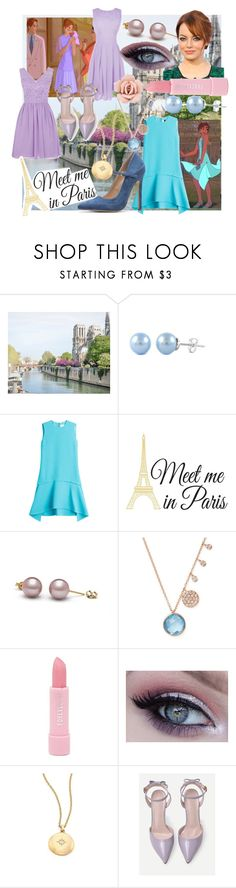 """Anastasia (looks #4 and #5, 2 dress options)"" by movielooks ❤ liked on Polyvore featuring Victoria, Victoria Beckham, Wall Pops!, Meira T, Forever 21, Astley Clarke and 1928"