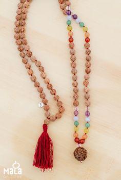 Chakra Mala Beads // Mala Collective, beads for a calmer mind, body and spirit.