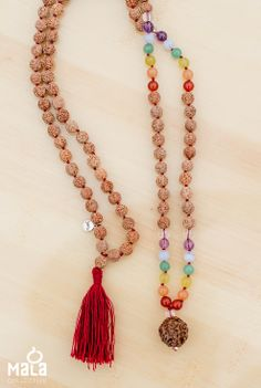 Chakra Mala Beads // Mala Collective, beads for a calmer mind, body and spirit.