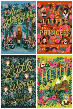 I just bought the Penguin Threads version of Little Women, but I am so tempted by these gorgeous Puffin In Bloom series covers!