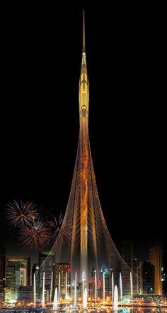 Gallery of Santiago Calatrava Reveals New Details About Dubai Observation Tower - 8