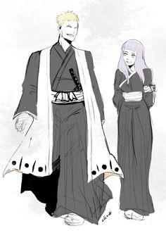 Naruto + Hinata Crossover #Bleachcrossover
