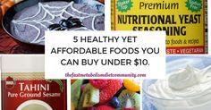affordable foods