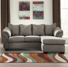 Madison Reversible Sectional only $999 including tax & free local delivery! #sofa #palluccifurniture
