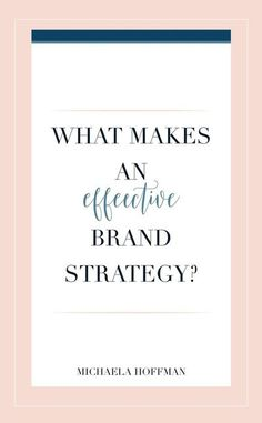Are you a small business owner or online entrepreneur and you're struggling with brand positioning or building an effective brand that attracts your dream clients? Then you need to read this article and get these 6 tips to help you develop an effective st Branding Your Business, Personal Branding, Business Marketing, Creative Business, Business Tips, Online Business, Business Cards, Seo Strategy, Online Entrepreneur