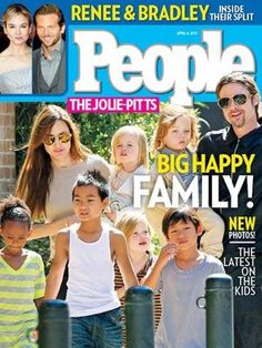 Brad Pitt and Angelina Jolie's choice to adopt so many beautiful children is amazing. They managed to have their own and international ones as well. They're humble and setting a good example.