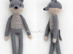 Amigurumi Wolf-Free Pattern
