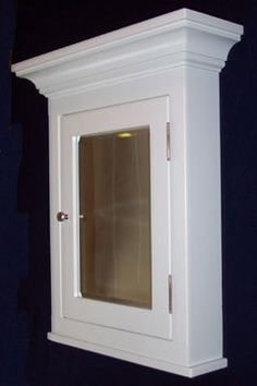 Price is good, looks like it's partially recessed, but the mirror part might be too small
