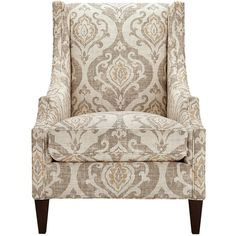"Plazza 28"" Upholstered Chair in Raffia ($1,299) ❤ liked on Polyvore featuring home, furniture, chairs, accent chairs, plazza raffia, fabric accent chairs, fabric chairs, upholstered chair, fabric furniture and systems furniture"